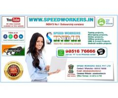 SPEED WORKERS INDIA Pvt Ltd  PROVIDES Exciting Job Offer for everyone - No age limits- Work from Hom