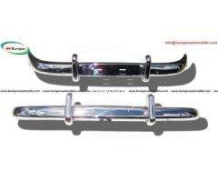 Volvo PV 544 Euro bumper (1958-1965) in stainless steel