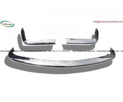 Fiat 124 Spider bumper (1966-1975) by stainless steel - Image 1/3