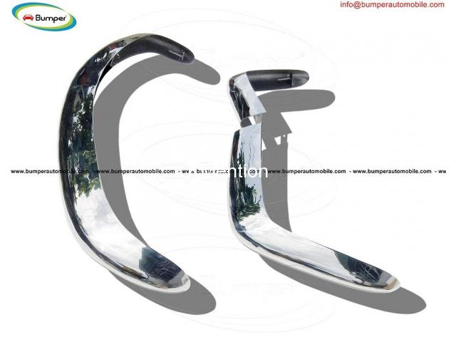 Fiat 124 Spider bumper (1966-1975) by stainless steel - 3/3