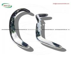 Fiat 124 Spider bumper (1966-1975) by stainless steel - Image 3/3