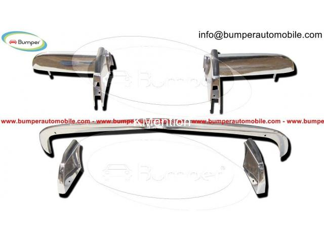 Opel GT bumper (1968–1973) in stainless steel - 1/4