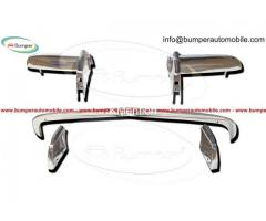 Opel GT bumper (1968–1973) in stainless steel - Image 1/4