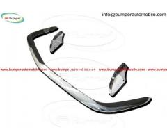 Opel GT bumper (1968–1973) in stainless steel - Image 2/4