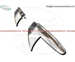 Opel GT bumper (1968–1973) in stainless steel - Image 3/4