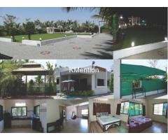 R.S. Farmhouse for rent one day -Morthana 15km from Sarthana-Surat