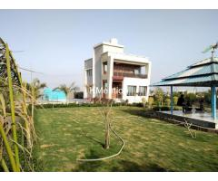 Blue Heaven Farm house for rent one day-Virpor, Gay pagala-24km from Sarthana