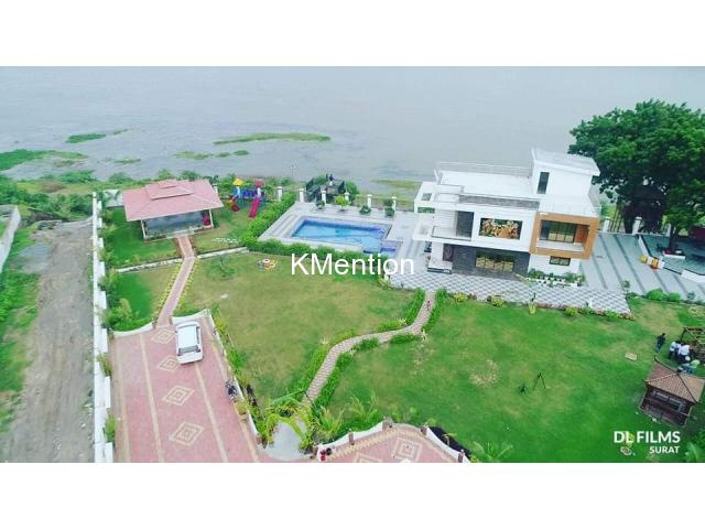 R Radha-Krushna farmhouse for rent The beautiful Surat's top ten farmhouse near Surat - 1/15