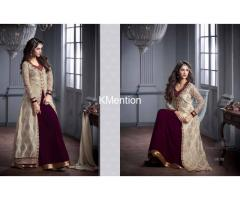 Long Dresses or Designer Gown for party wear at Gujcart
