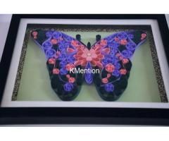 Put your Home in Butterfly frame for perfect home decoration made by hand - Image 3/8