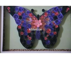 Put your Home in Butterfly frame for perfect home decoration made by hand - Image 4/8