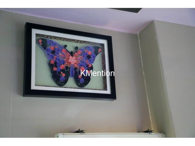 Put your Home in Butterfly frame for perfect home decoration made by hand - 6/8