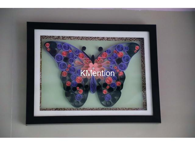 Put your Home in Butterfly frame for perfect home decoration made by hand - 8/8