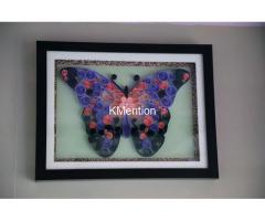 Put your Home in Butterfly frame for perfect home decoration made by hand - Image 8/8