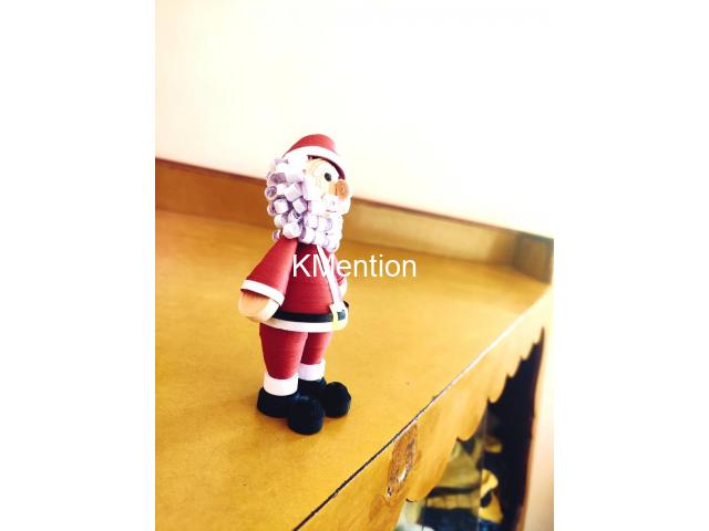 Quilling Santa Claus for gift your Child on Christmas - 5/8