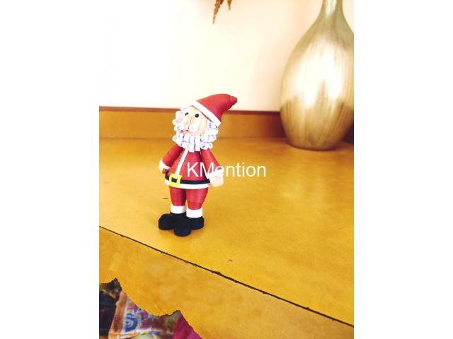 Quilling Santa Claus for gift your Child on Christmas - 6/8