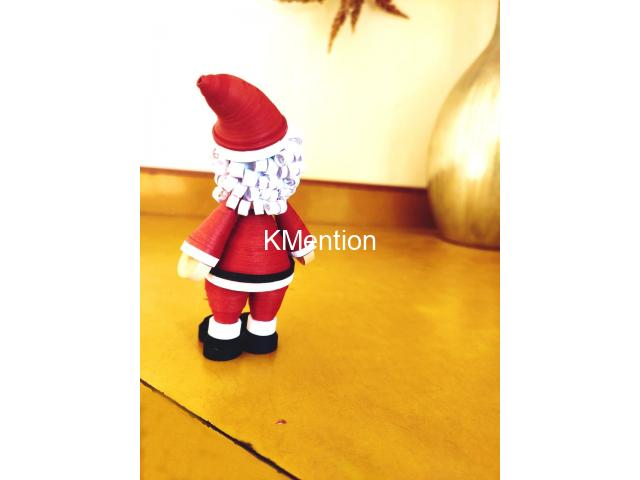Quilling Santa Claus for gift your Child on Christmas - 7/8
