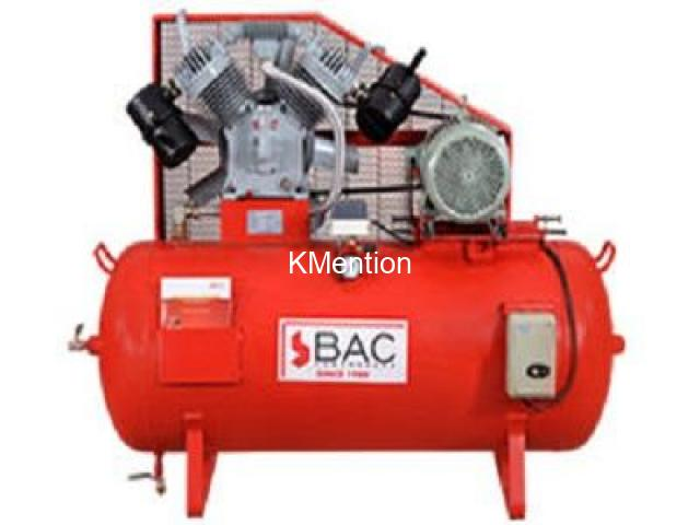 Industrial Air Compressor manufacturers in  Coimbatore, India - BAC Compressors - 1/1