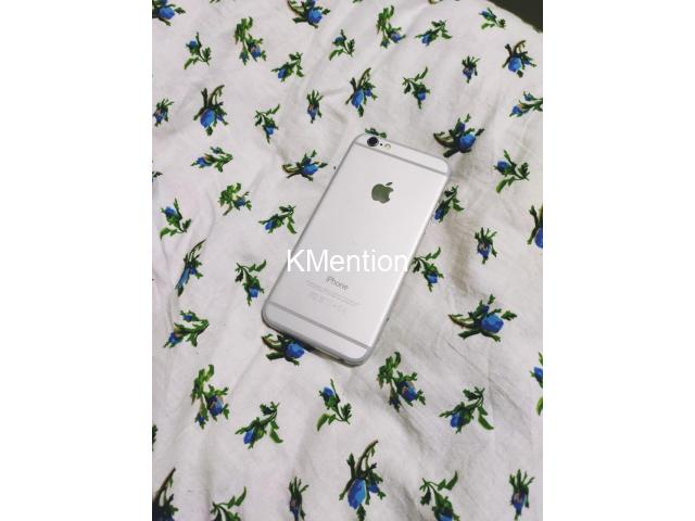 iPhone 6 128gb Better condition  Silver color - 5/8