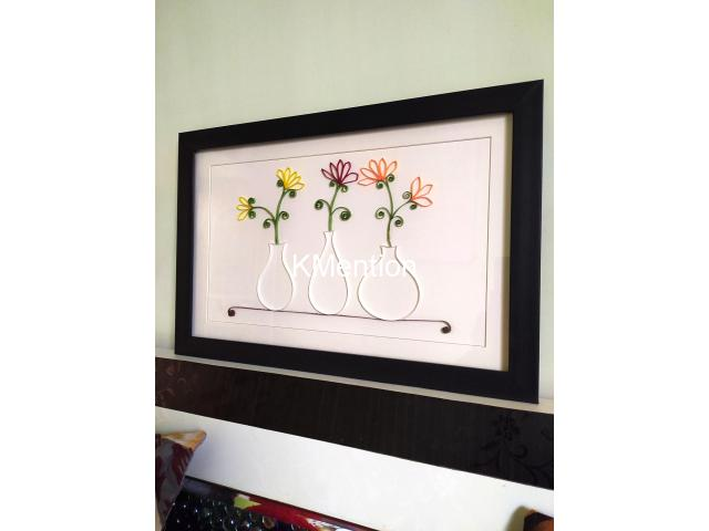 Aadhi Creation Unique Flower-Port frame for gift to someone special on any Occasion - 2/9
