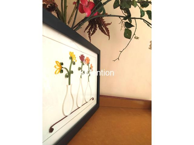 Aadhi Creation Unique Flower-Port frame for gift to someone special on any Occasion - 3/9