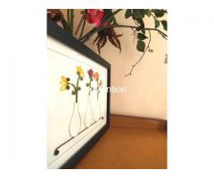Aadhi Creation Unique Flower-Port frame for gift to someone special on any Occasion - Image 3/9