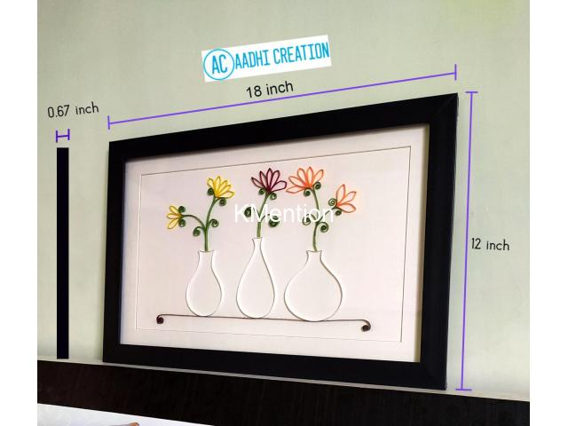 Aadhi Creation Unique Flower-Port frame for gift to someone special on any Occasion - 4/9