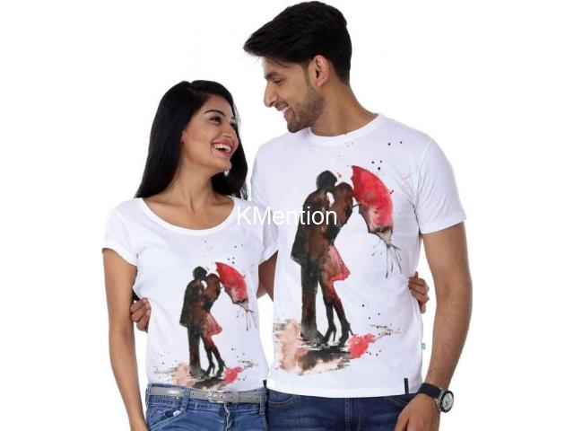 couple t-shirt only 299 - 1/3