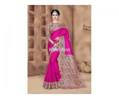EXCLUSIVE KHADI SILK SAREES. DEV FASHION WORLD