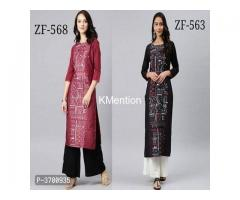 COMBO OF KURTI & PLAZZO SET. DEV FASHION WORLD