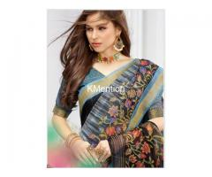 ELIZA COTTON SAREE.. DEV FASHION WORLD..