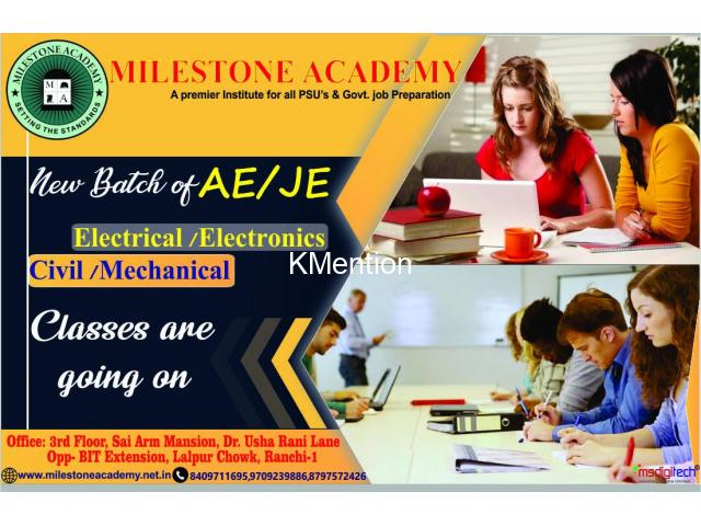 GATE exam preparations by Milestone Academy, Ranchi - 1/2