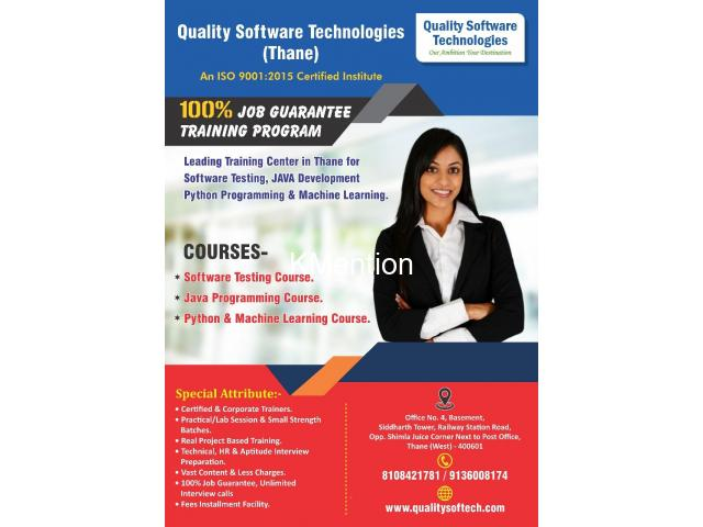 Software Testing famous institute in Thane -  Kalyan @Quality Software Technologies - 1/12