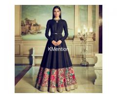 Designer long Gown-Long Dresses Lehenga Suppliers Gujcart