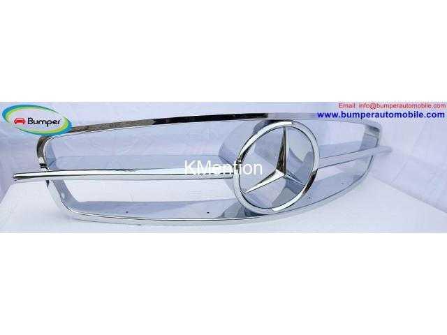 Mercedes 190SL Grille (1955-1963) by stainless steel - 4/4