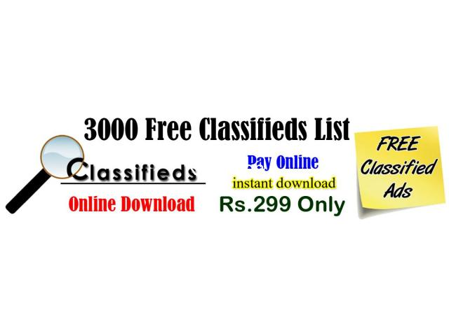 Best Free Classifieds India - 1/1