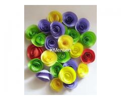 Designer Flower for wall decor office decor